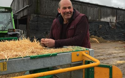 Spread-a-Bale: 50% straw savings, 100% return on capital investment within 12 months