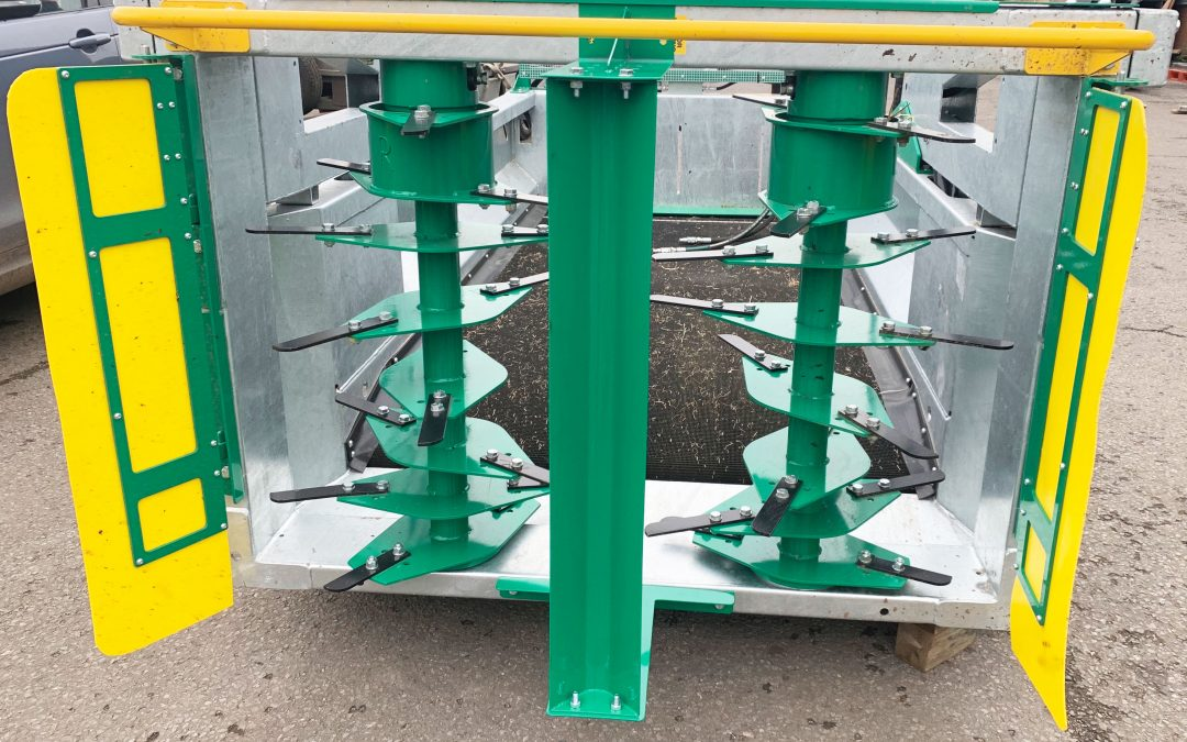 Spread-a-Bale launches new spreader head option for poultry sector