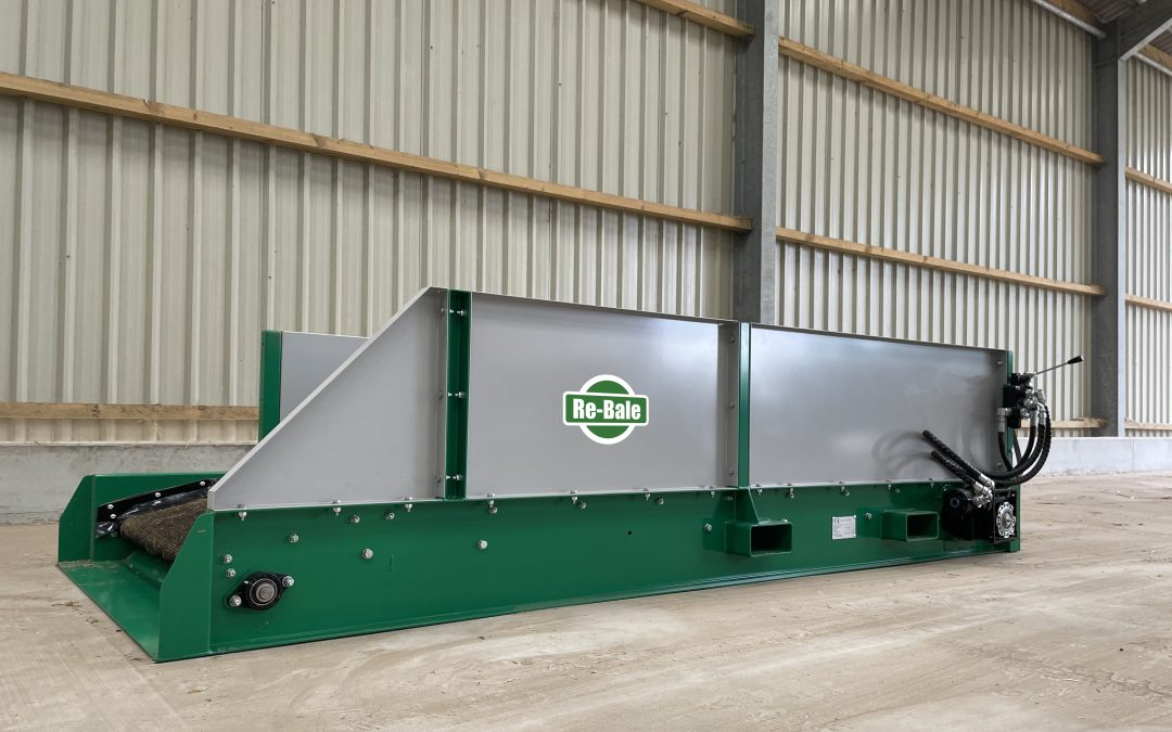 Re-Bale from Spread-a-Bale: new re-baling facility launched